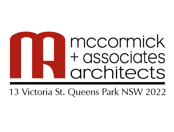 logo for architects McCormick & Associates