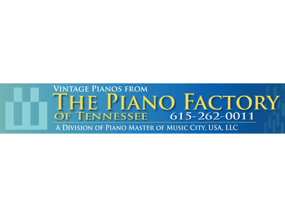 Logo for The Piano Factory