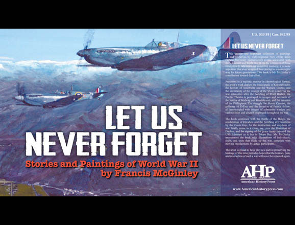 front cover of 'Let Us Never Forget'