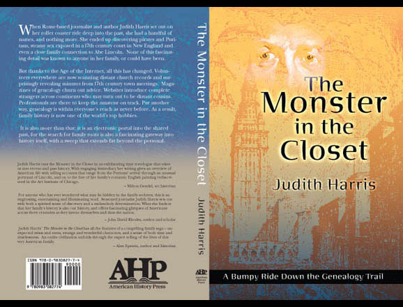 Cover for 'Monster in the Closet,' published by American History Press